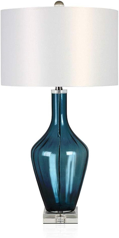 Moderne Kunsttischlampe Einfache Glasnachttischlampe Arbeitszimmer Schlafzimmer Schlafzimmer Schlafzimmer Europäische Design Leselampe (Farbe   Remote control) B07PGZCVM3 | Zu einem niedrigeren Preis  2fe1a2