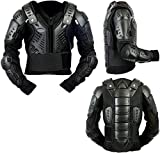 Kids Childrens Body Armour Motocross Motorbike Motorcyle Protection Jacket Motorcycle Body Guard CE Approved Chest Spine Elbow Shoulder Protection (10)