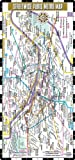 Streetwise Paris Metro: Metro Map of Paris, France
