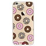 BubbleGum Cases - Carcasa de Gel Suave para Samsung Galaxy Donut Samsung Note4