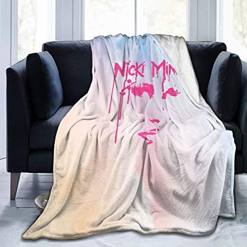 VJSDIUD - Manta de Microfibra Suave para Cama, sofá, sillón, Nicki Minaj Lanza Regalo 50 'x 40'