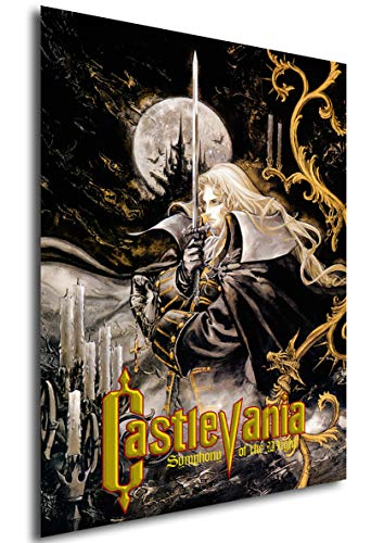 Instabuy Poster Castlevania - Symphony of The Night - Game Cover - A3 (42x30 cm)