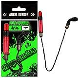 Angel-Berger Carp Series Bite Bobbin Indicator Bissanzeiger (Rot)
