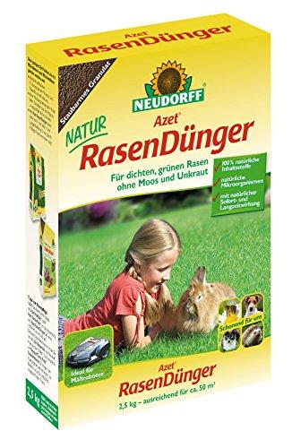 NEUDORFF Azet Rasendünger, 2,5 kg