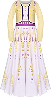 Tsyllyp Girl's Princess Deluxe Party Cosplay Birthday Pageant Costumes for Halloween Christmas
