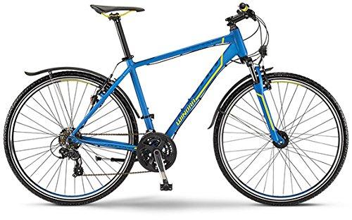 Winora Grenada 2015 Crossbike Herren blau/gelb matt (Rahmenhöhe 56)