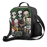 Dansony Killer Freddy Horror Movie The Massacre Machine Insulated Lunch Tote Bag...