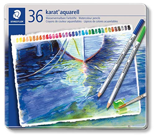 Set 125 M36 36 Colors Staedtler Dilshan Watercolor Pencil