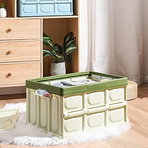 MUY Boîte Pliante Coffre Pliable boîte de Rangement de Voiture superposée boîte de Rangement de débris en Plastique boîte de Rangement de vêtements Sa