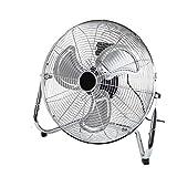 Dawoo Ventilatore| Potente Ventola Da 20'(50 Cm) Di Diametro | Ventola Da Pavimento a 3 Velocità Da 125 W (Nero)(20)