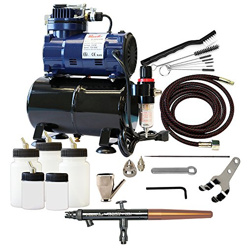 Paasche TS-300R Double Action Siphon Feed Airbrush Complete Kit