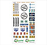 Trabant Logo Autoaufkleber Sponsoren DDR Marken Decals Tuning Sticker Set