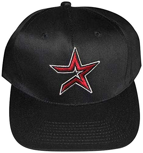 Houston Astros Vintage Retro Red Star Plastic Snapback Adjustable Snap Back Hat/Cap