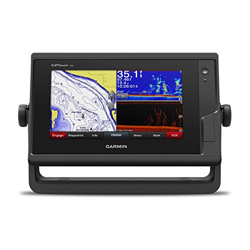 Garmin GPSMAP 742xs, ClearVu and Traditional CHIRP Sonar with Mapping, 7', 010-01738-03