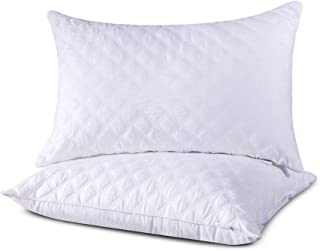 zhenxin Almohada 2 unids 20x30inch Almohada Ajustable Almohada estándar Antibacteriano hogar Textil algodón algodón Relleno Almohada Lavable