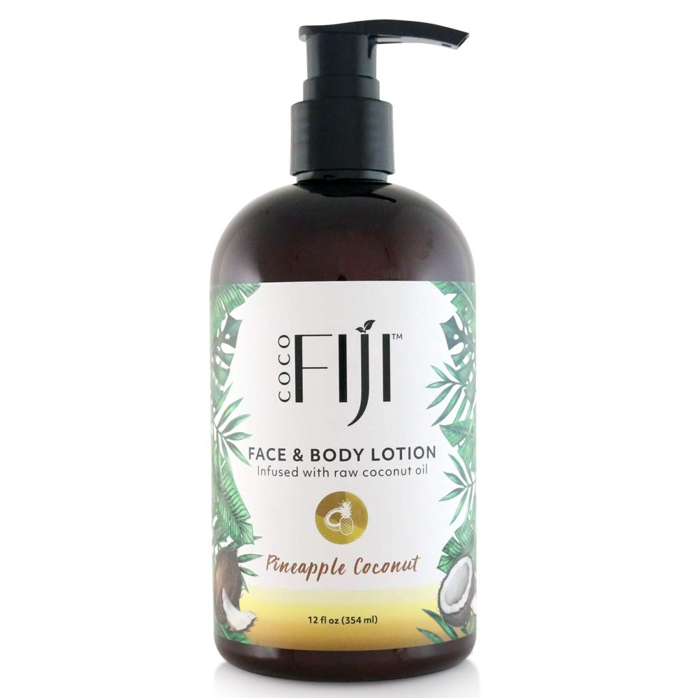 Coco Fiji, Coconut Oil Infused Face & Body Lotion
