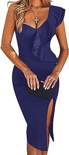 Best blue dress knee length Reviews