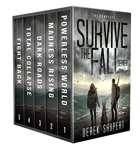 Featured Sci-fi : The Complete Survive the Fall Series (A Post Apocalyptic Survival Thriller, Books 1-5) by Derek Shupert