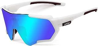 Polarized Sports Sunglasses for Men Women, Bike Glasses Bicycle Sunglasses for Driving Cycling Running Fishing Golf Outdoor Eyewear