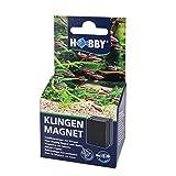 Hobby Hoja magnética limpiacristales para acuarios de hasta 8 mm de Grosor.