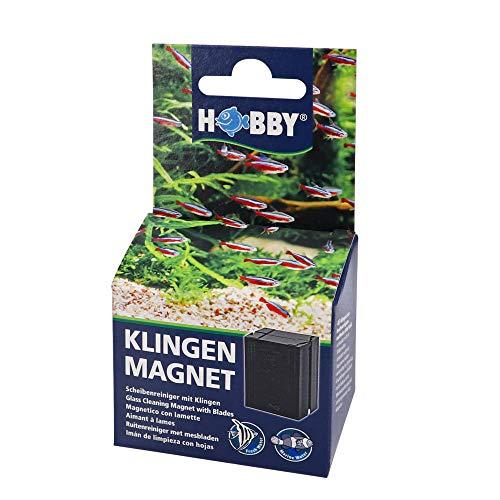 Hobby Klingenmagnet Scheibenreiniger für Aquarien bis 8 mm Glasstärke