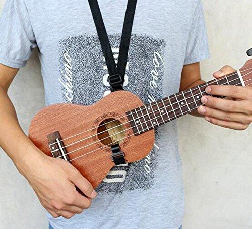 """ETGtek(TM) Guitarra Ukulele 21 """"23"""" 26 """"Negro"""
