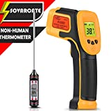 Infrared Thermometer, Digital IR Laser Thermometer Temperature Gun -26°F~1022°F (-32°C~550°C) Non-human...