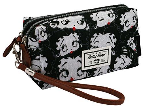 Karactermania Betty Boop Noir Bolsas de Aseo, 19 cm, Negro