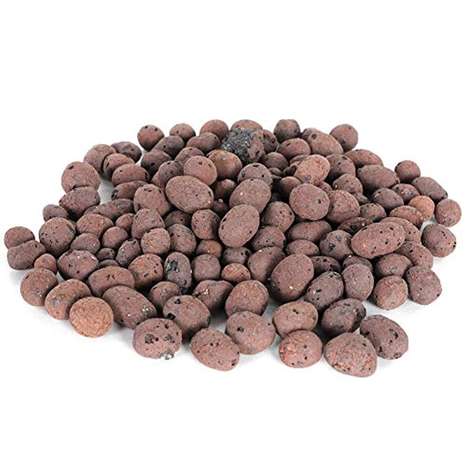 Eastbuy Clay Pebble - Hydroponic Clay Pebbles Growing Media Anion Clay Rocks for Hydroponic System