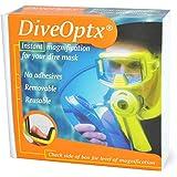 Trident DiveOptix Lens Dive Scuba Mask Magnifier Gauge Readers Kit (Pair)