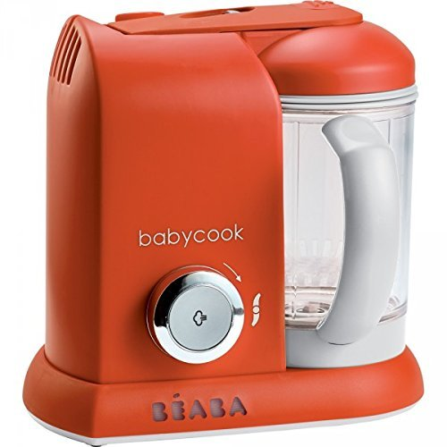 Béaba Mixeur-Cuiseur Babycook Solo, color naranja