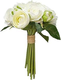 PAKUES-QO Fleurs Artificielles Style Nordique Simulation Bouquet Salon Salle D'Étude Décorations Bouquets De Décoration (C...
