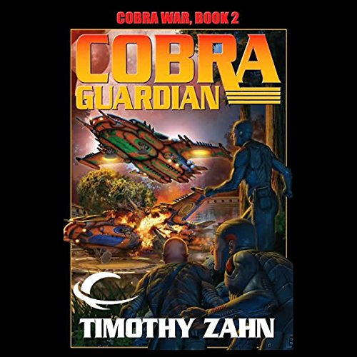 Cobra Guardian audiobook cover art