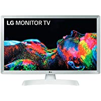 "LG 24TL510V-WZ - Monitor TV de 61 cm (24"") con pantalla LED HD (1366 x 768 píxeles, 16:9, DVB-T2/C/S2, 250 cd/m², 5ms, 5M:1, 10W, 1xHDMI 1.3, 1xUSB 2.0) Color Blanco"