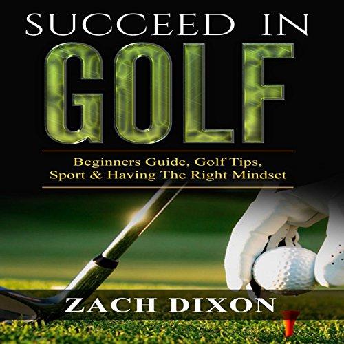 Succeed in Golf audiobook cover art