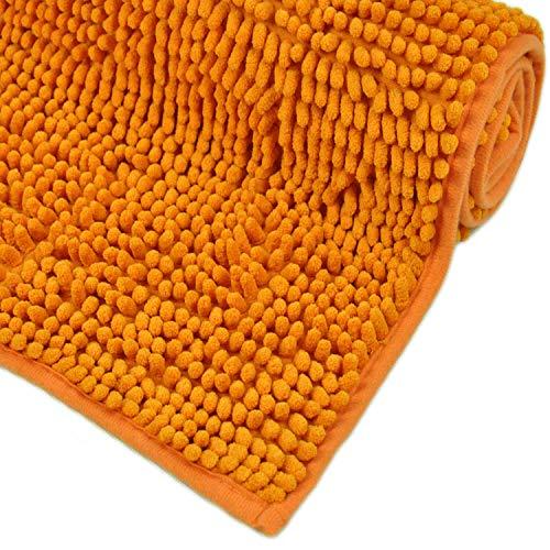 WohnDirect Alfombrilla baño Naranja • Puede combinarse