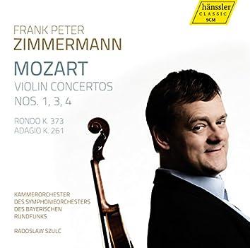 Mozart: Violin Concertos Nos. 1, 3 & 4