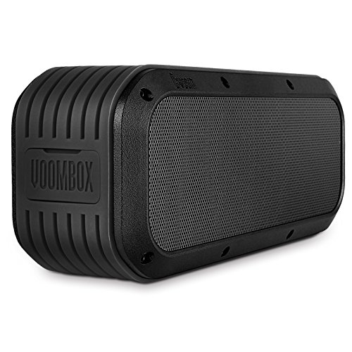 Divoom Outdoor2 Portable Rugged Stereo Water Resistant Wireless Bluetooth Speakers, 15W 12Hours Playtime (Black)
