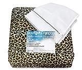 Tex family Trapunta Leopardata MACULATA Dis. Leopardo piumone Made in Italy con Sacco per Lavaggio OBLÒ - 1 Piazza