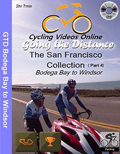 Going the Distance, Bodega Bay to Windsor CA - Virtual Indoor Cycling Training / Spinning Fitness and Weight Loss Videos