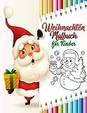 Weihnachten Malbuch für Kinder: weihnachtsbuch kinder ab 2 jahre | nikolaus geschenke kinder | weihnachtsbücher für kinder ab 2