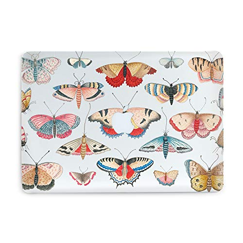 Butterfly Girls Laptop Case for Pro Retina 15 A1398 Clear Design Laptop Hard Case Durable with Print Colorful Butterflies