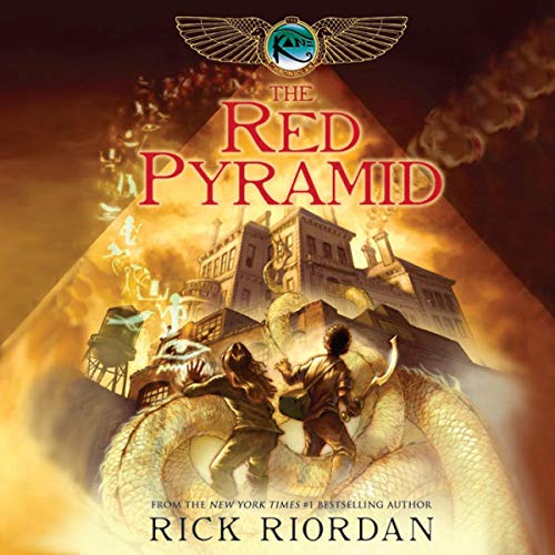 Amazon.com: The Red Pyramid: The Kane Chronicles, Book 1 (Audible Audio Edition): Rick Riordan, Kevin R. Free, Katherine Kellgren, Brilliance Audio : Audible Audiobooks