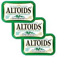 ALTOIDS アルトイズ ミントタブレット スペアミント 50g×3個セット