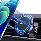 VICSEED Phone Magnet for Car [Strong Power] Magnetic Phone Car Mount 360° Rotation Air Vent Phone Mount Cell Phone Holder for Car Fit for iPhone 12/ 12 pro/ 12 pro max/ mini/ MagSafe Case & All Phones
