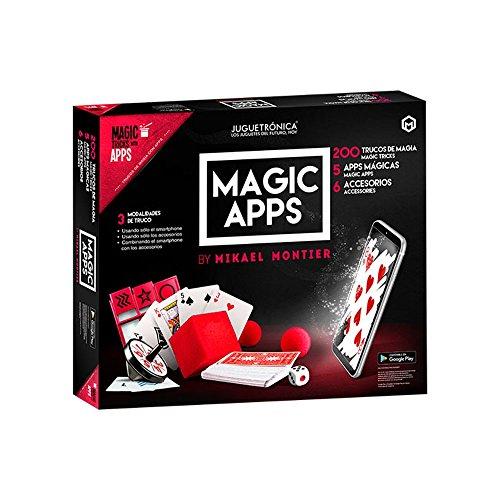 Juguetrónica - Magic apps 200 trucos - Kit de magia para