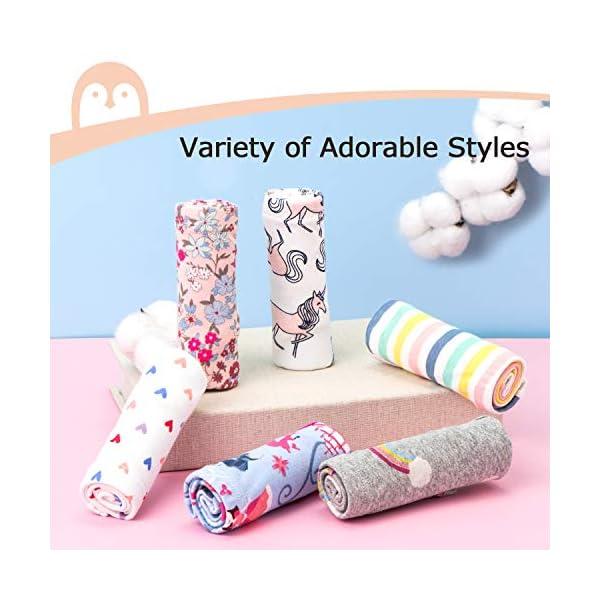 Momcozy Girls Underwear Soft Cotton Panties Little Girls'Briefs Toddler Undies