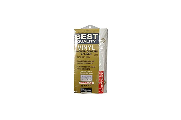 Amazoncom Ex Cell Home Fashions Best Quality 70 By 78 Vinyl