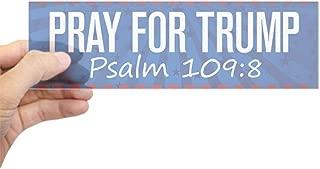 psalm 109:8 bumper sticker