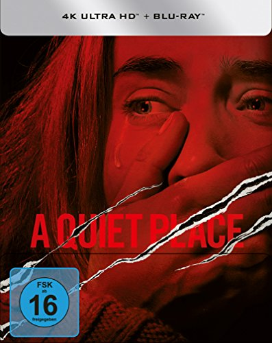 A Quiet Place - (4k UHD) Limited Steelbook (exklusiv bei Amazon.de) [Blu-ray]